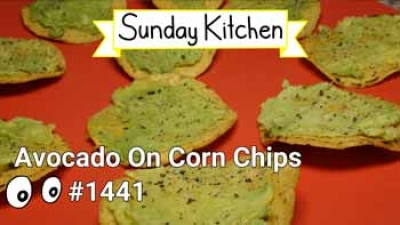 #1441 Avocado On Corn Chips