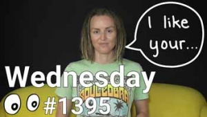 #1395 Study English With Lyrics, Kanye Interrupts Again, Compliment or Complement?